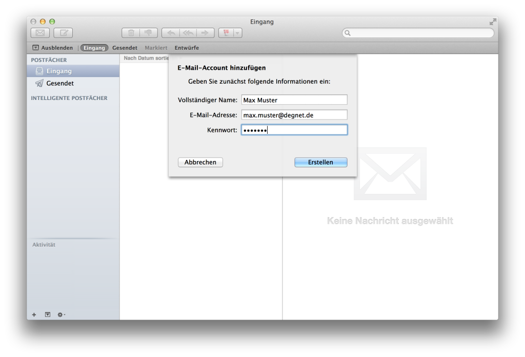 Apple Mail - add account 02