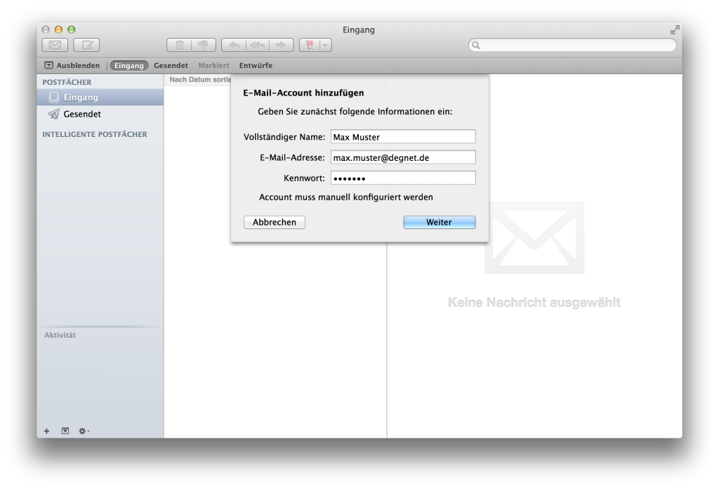 Apple Mail - add account 03